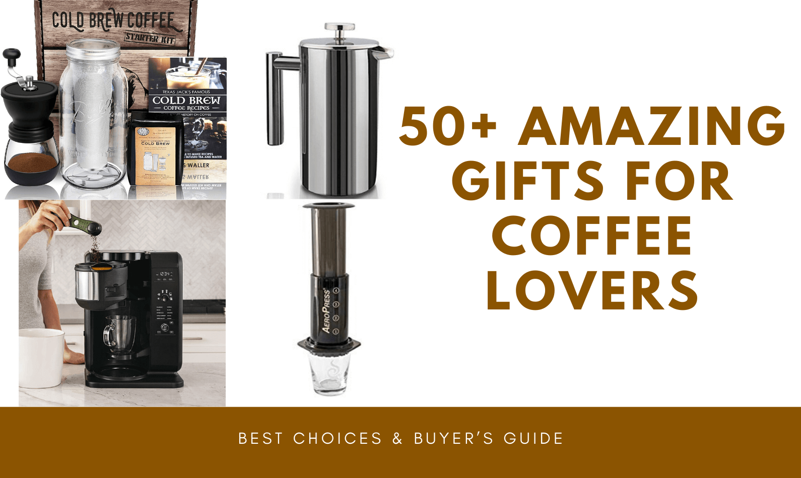50+ Amazing Gifts for Coffee Lovers