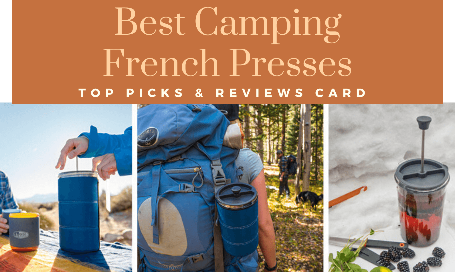 Best Camping French Presses