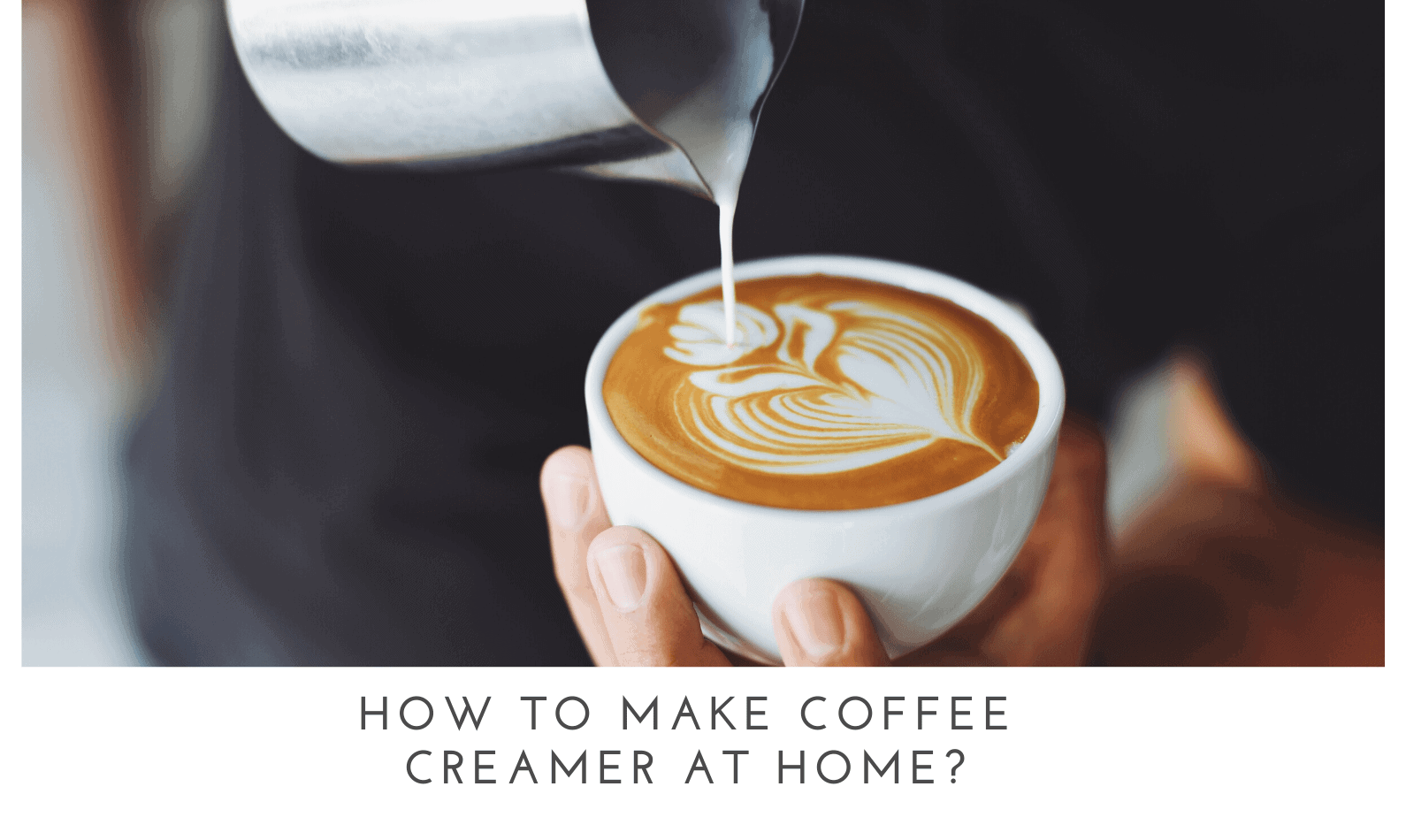 How To Make Coffee Creamer at Home?