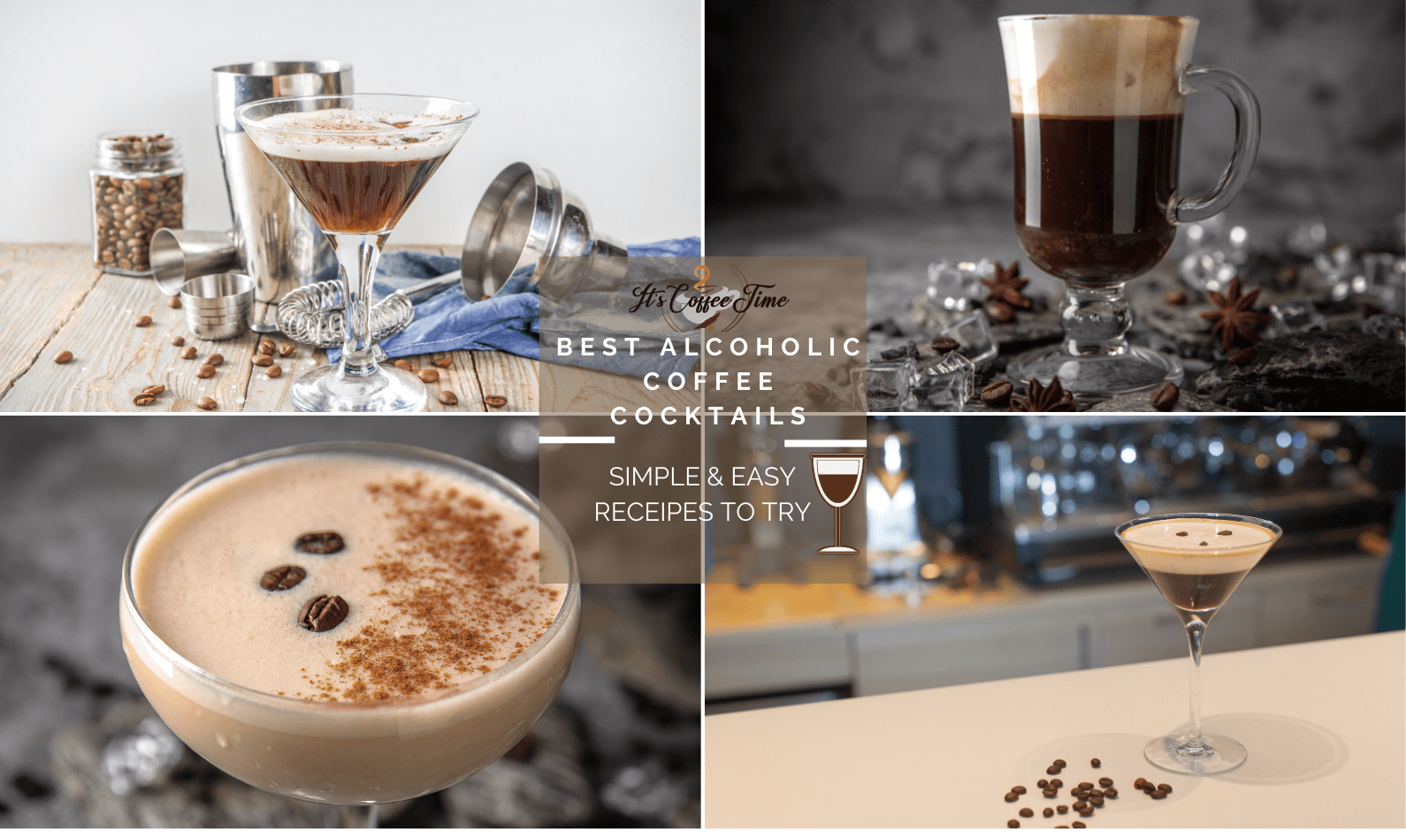 Best Alcoholic Coffee Cocktails