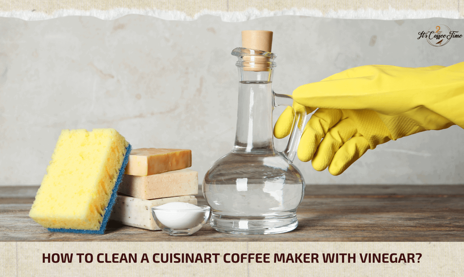How to Clean a Cuisinart Coffee Maker with Vinegar