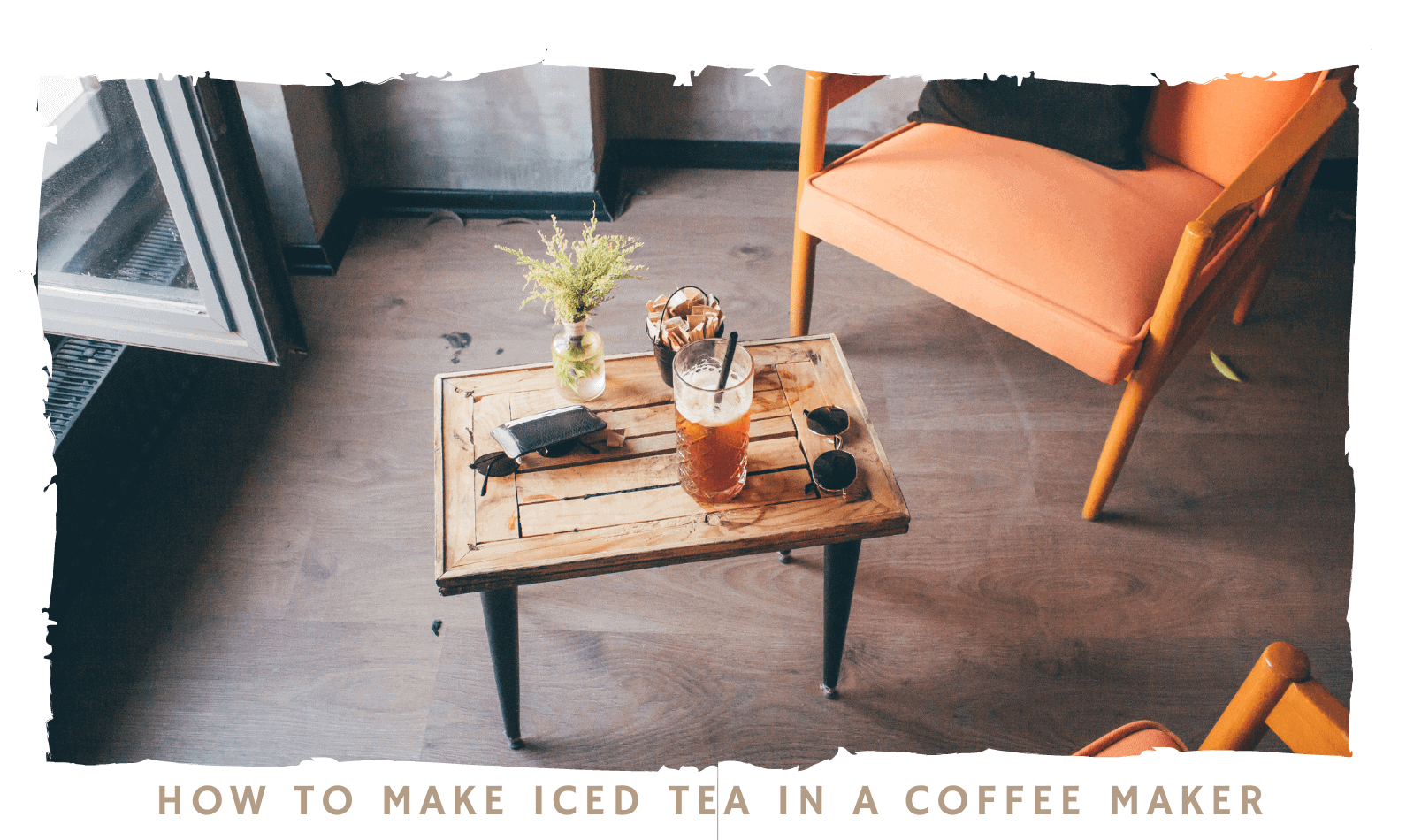 How to Make Iced Tea in a Coffee Maker