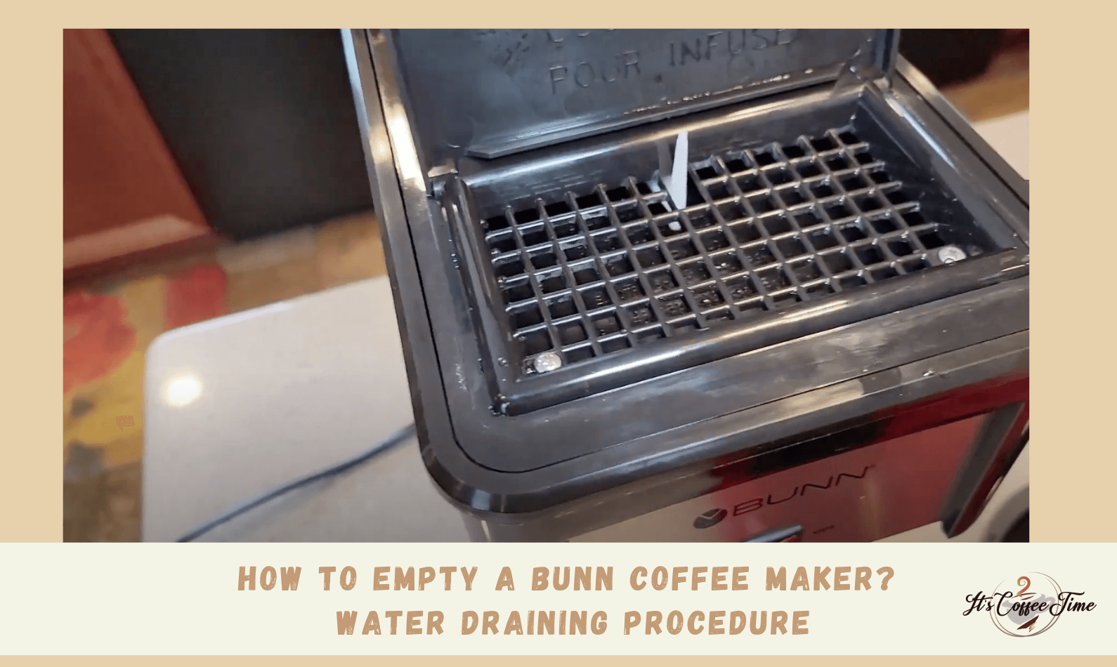 How to Empty a Bunn Coffee Maker