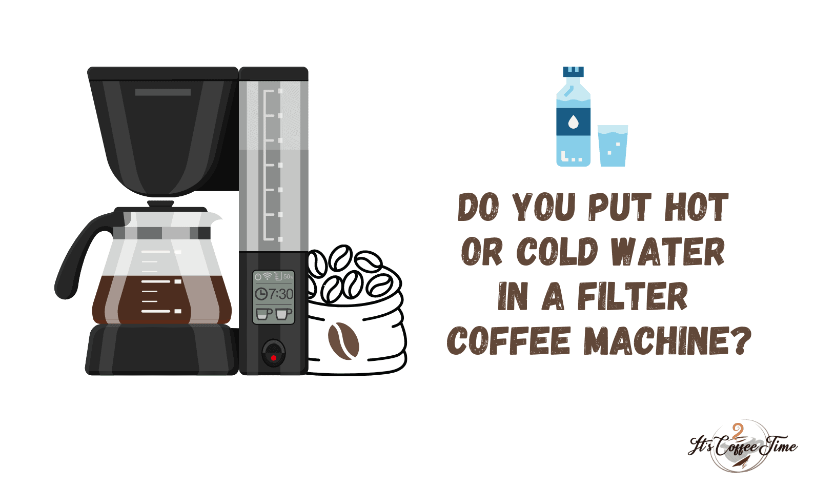 Do you put Hot or Cold Water in a Filter Coffee Machine